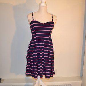 xhilaration striped dress, medium